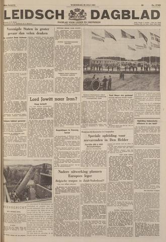 Leidsch Dagblad 1951-07-25