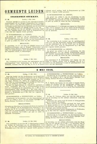 Handelingen van de Raad 1945-05-03