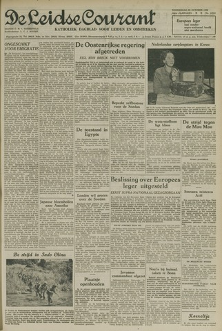Leidse Courant 1952-10-23