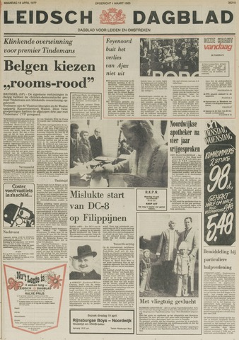 Leidsch Dagblad 1977-04-18