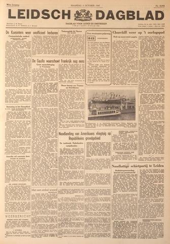 Leidsch Dagblad 1947-10-06