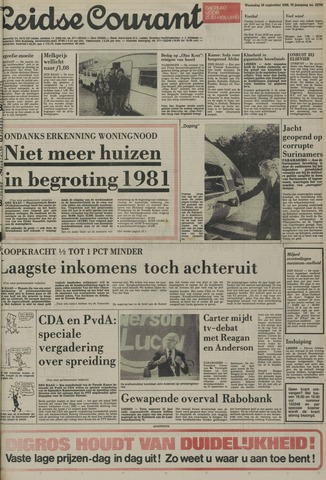 Leidse Courant 1980-09-10