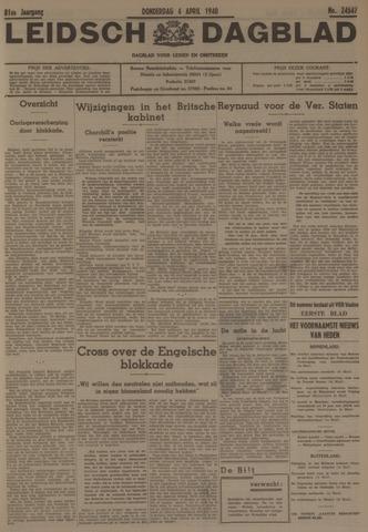 Leidsch Dagblad 1940-04-04
