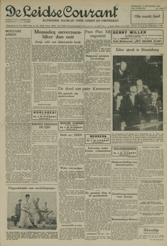 Leidse Courant 1952-09-17