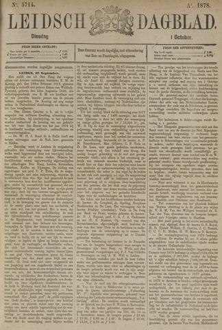 Leidsch Dagblad 1878-10-01
