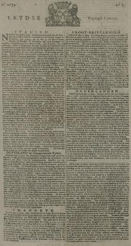 Leydse Courant 1734-06-25