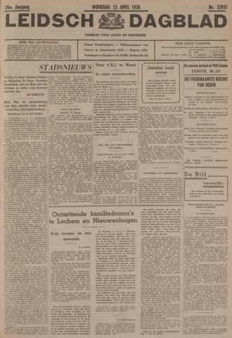 Leidsch Dagblad 1938-04-13