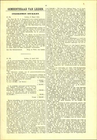 Handelingen van de Raad 1933-03-31