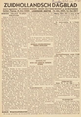 Zuidhollandsch Dagblad 1944-10-16