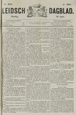 Leidsch Dagblad 1869-04-20