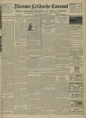 Nieuwe Leidsche Courant 1939-11-11