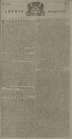 Leydse Courant 1740-05-30