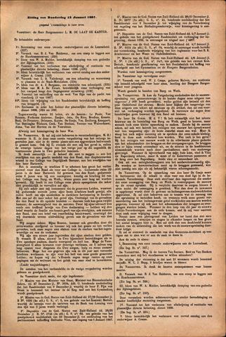 Handelingen van de Raad 1887-01-13