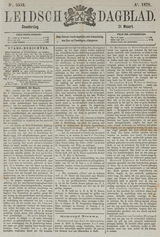 Leidsch Dagblad 1878-03-21
