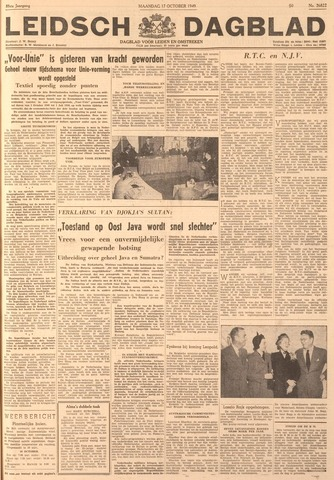 Leidsch Dagblad 1949-10-17
