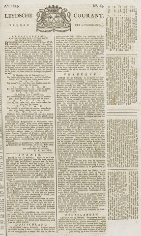 Leydse Courant 1825-02-25