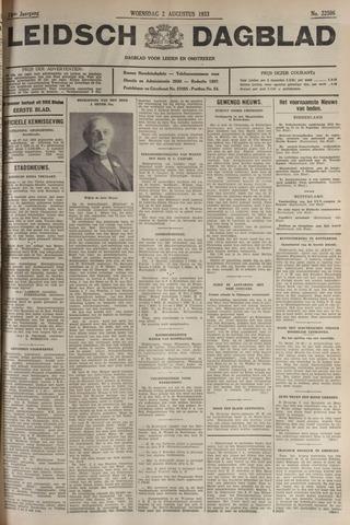 Leidsch Dagblad 1933-08-02