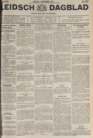Leidsch Dagblad 1932-09-09