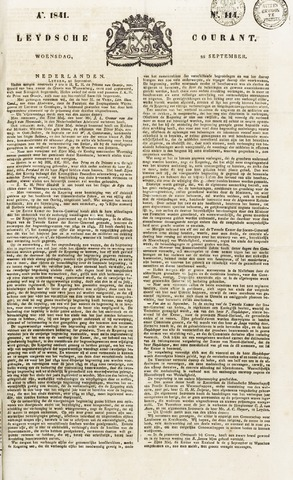 Leydse Courant 1841-09-22