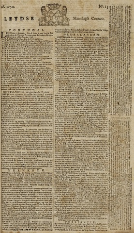 Leydse Courant 1752-01-31