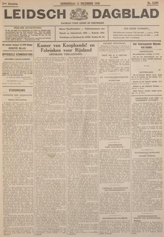 Leidsch Dagblad 1930-12-11