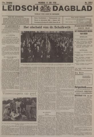 Leidsch Dagblad 1938-07-11