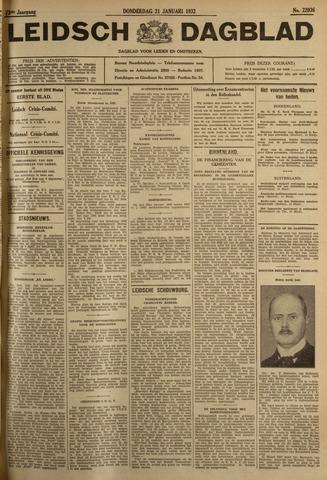 Leidsch Dagblad 1932-01-21