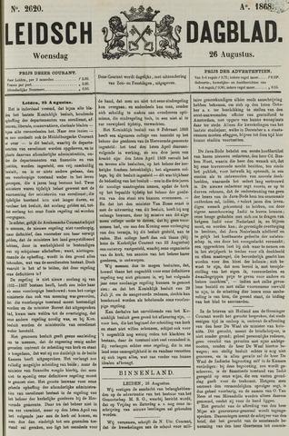 Leidsch Dagblad 1868-08-26