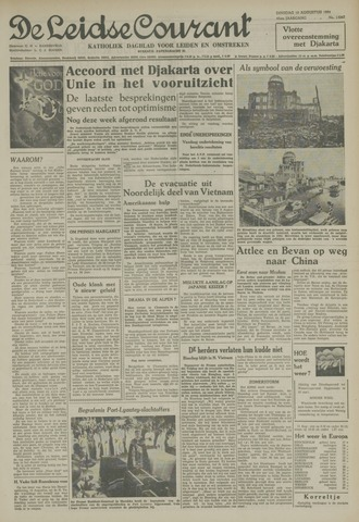 Leidse Courant 1954-08-10