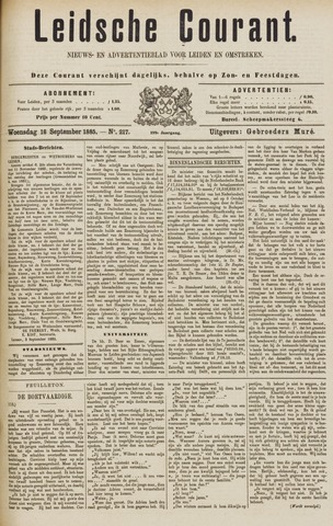 Leydse Courant 1885-09-16