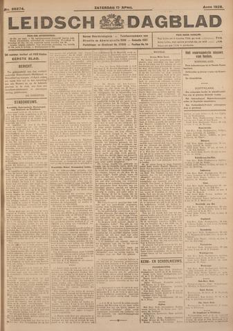 Leidsch Dagblad 1926-04-17