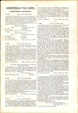 Handelingen van de Raad 1905-11-28