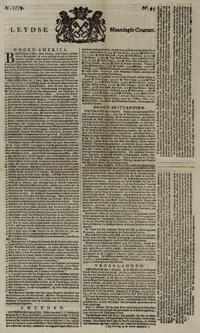 Leydse Courant 1779-08-09