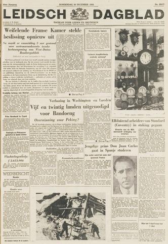 Leidsch Dagblad 1954-12-30