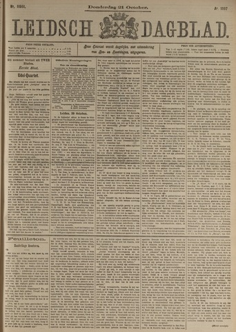 Leidsch Dagblad 1897-10-21
