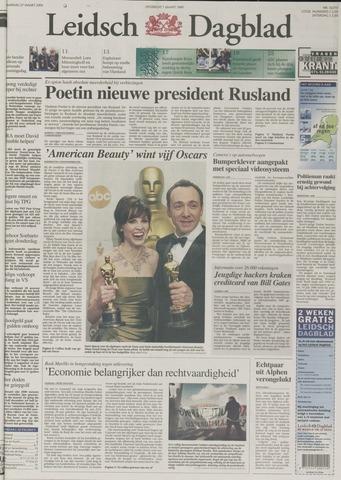 Leidsch Dagblad 2000-03-27