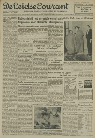 Leidse Courant 1955-11-29
