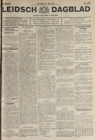 Leidsch Dagblad 1933-06-12