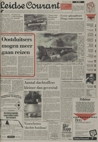 Leidse Courant 1989-10-20