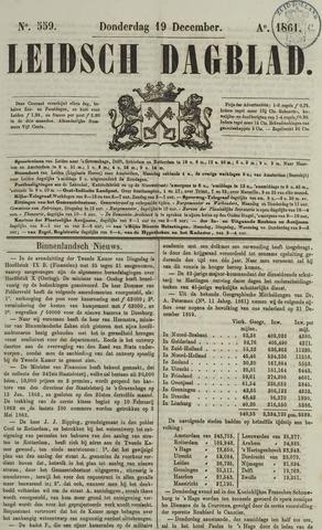 Leidsch Dagblad 1861-12-19