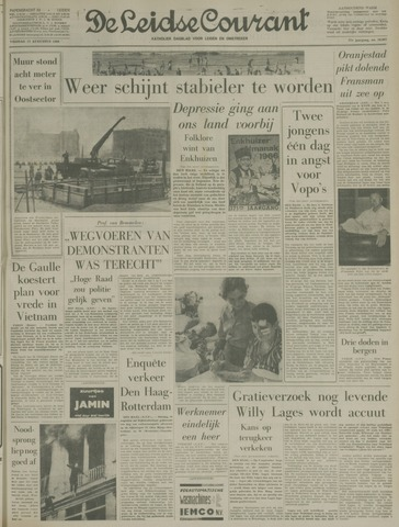 Leidse Courant 1966-08-12