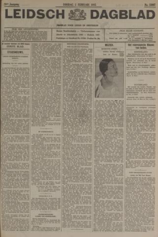 Leidsch Dagblad 1935-02-05