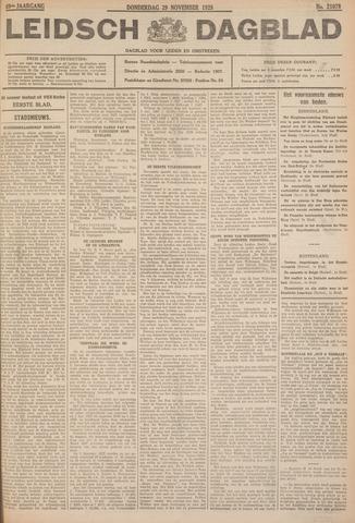 Leidsch Dagblad 1928-11-29