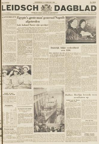Leidsch Dagblad 1954-02-25