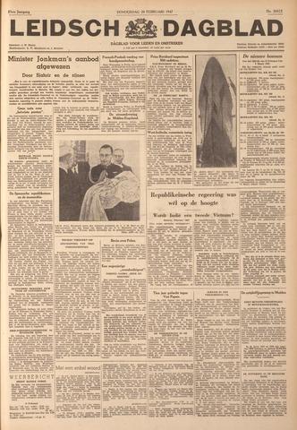 Leidsch Dagblad 1947-02-20