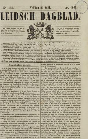 Leidsch Dagblad 1861-07-26