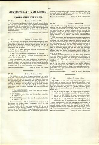 Handelingen van de Raad 1906-10-14