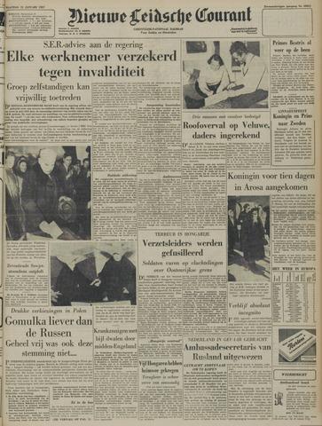 Nieuwe Leidsche Courant 1957-01-21