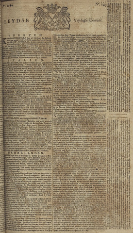 Leydse Courant 1760-11-28