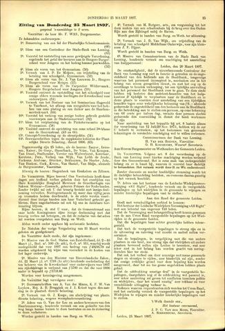 Handelingen van de Raad 1897-03-25